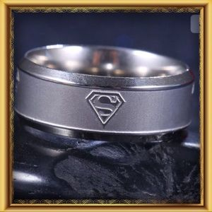 🌺🌴🌺 STAINLESS STEEL BRUSHED SILVER RING 🌺🌴🌺